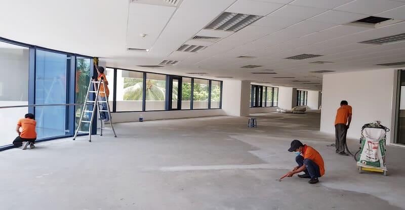 Tháo dỡ hoàn trả mặt bằng văn phòng giá rẻ Quận Tân Bình