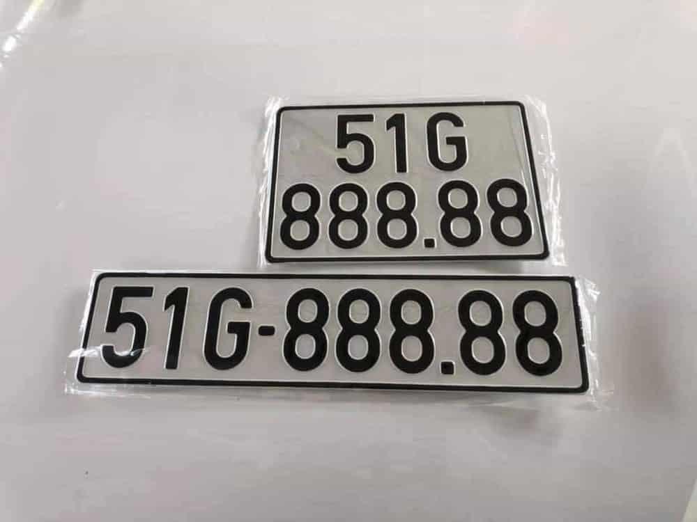 Biển số xe 51