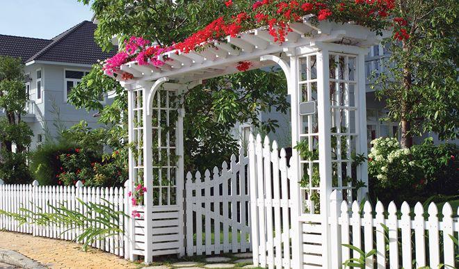 mở cổng nhà theo phong thuỷ