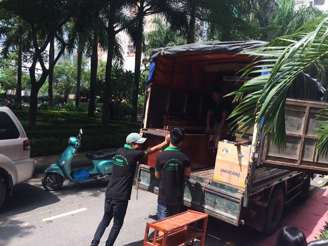 Chuyển nhà trọn gói tại Quận Bình Tân