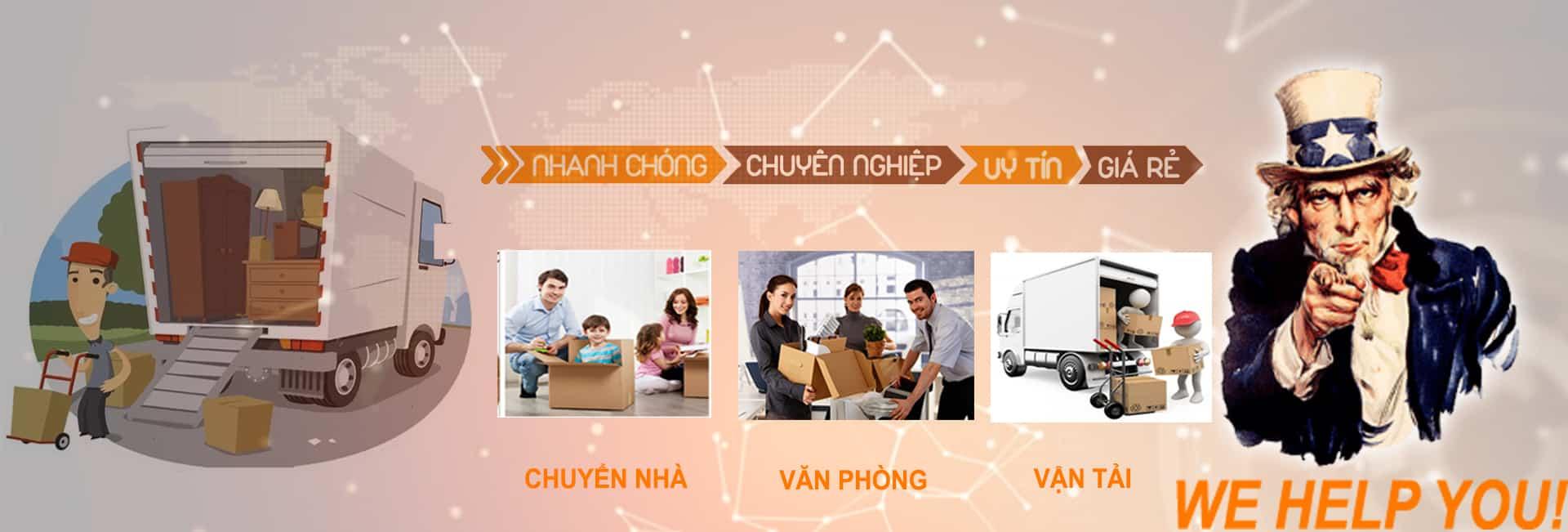 Dịch vụ chuyển nhà chuyển nghiệp tại Tân Bình