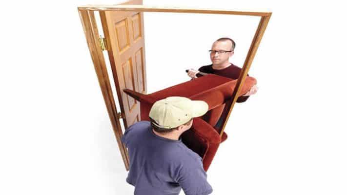 Vận chuyển đồ nội thất theo kiểu L sẽ an toàn và hiệu quả hơn