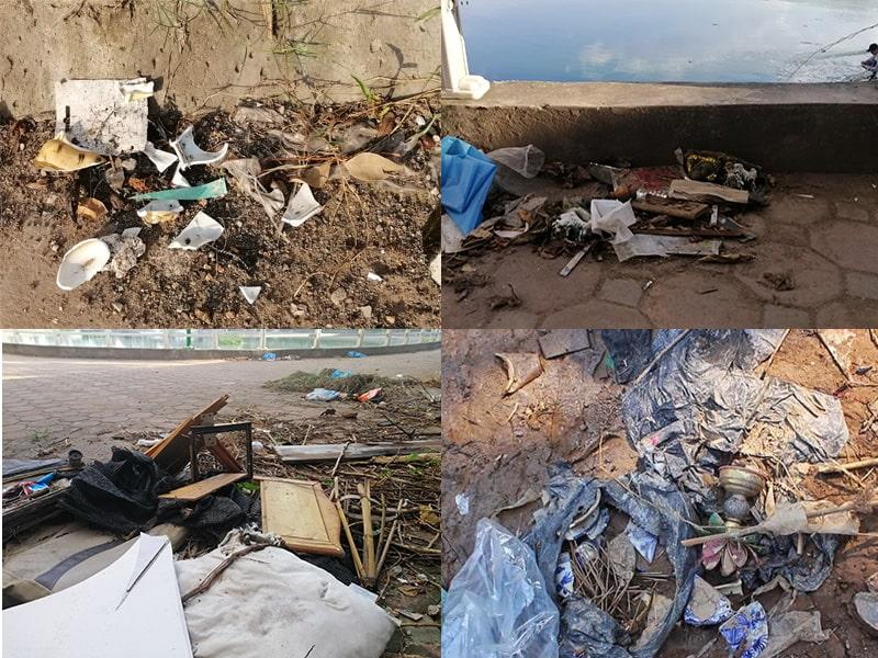 Không vất bàn thờ, bát hương cũ ra nơi công cộng, ao hồ gây ô nhiễm môi trường