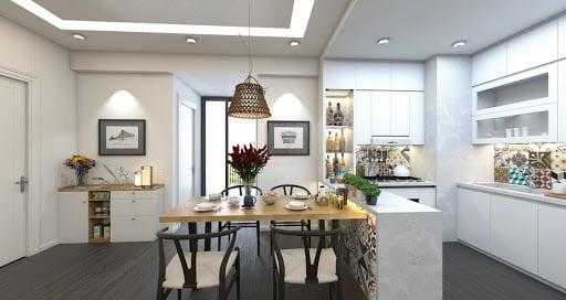 Tủ bếp, kệ bếp, đồ dùng nhà bếp,...nên ưu tiên chất liệu gỗ sẽ là tốt nhất cho phong thủy căn bếp của bạn.
