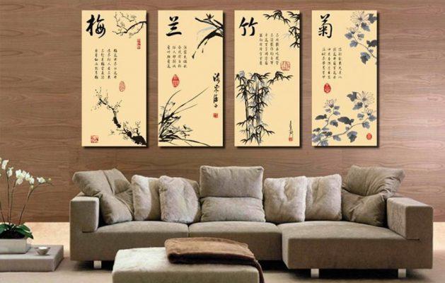 Tranh chữ Hán – Nôm vốn là một nét văn hóa đặc trưng trong truyền thống dân tộc Việt Nam.