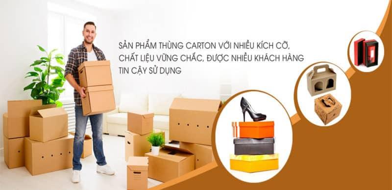 Thùng carton mang lại nhiều tiện ích trong đời sống