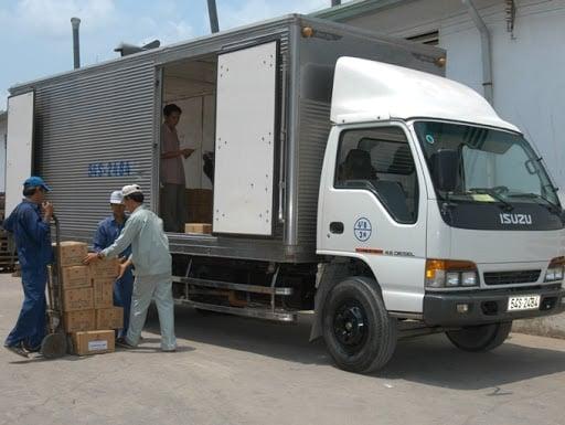 Dịch vụ cho thuê xe tải chở hàng quận 2 uy tín, chất lượng