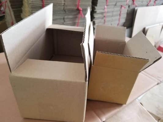công dụng các thùng carton giấy