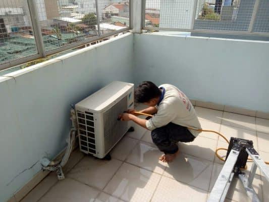 di dời máy lạnh Huyện Nhà Bè