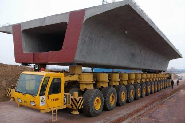 quy định về vận chuyển hàng siêu trường siêu trọng