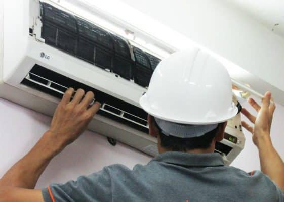 tháo lắp máy lạnh Huyện củ chi