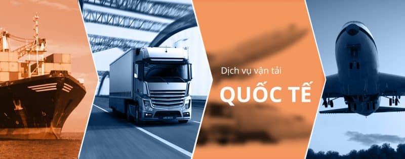 Dịch vụ vận tải quốc tế trọn gói