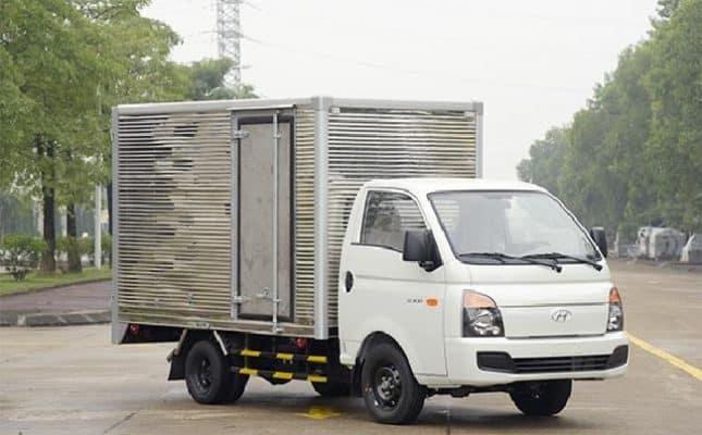 Các loại xe tải chở hàng thông dụng hiện nay