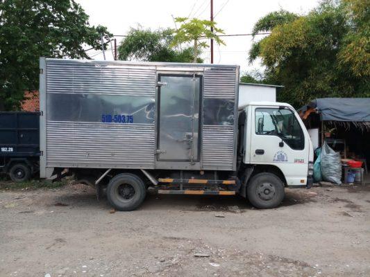 Dịch vụ xe tải chuyển nhà tphcm giá rẻ