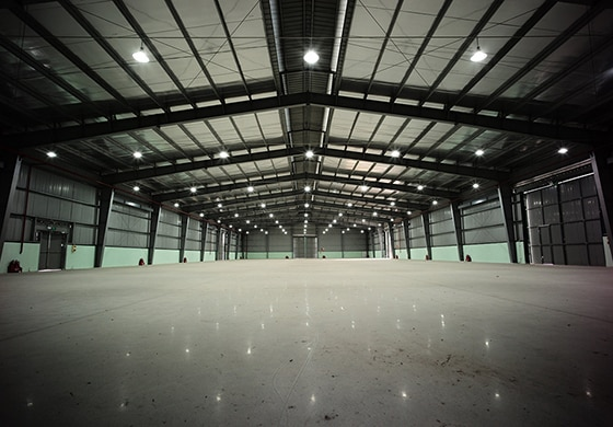Hệ thống kho xưởng tại Chuyển Nhà 24H có quy mô rộng lớn