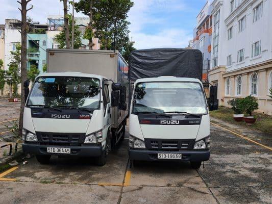 dịch vụ cho thuê xe tải chở hàng Huyện Hóc Môn