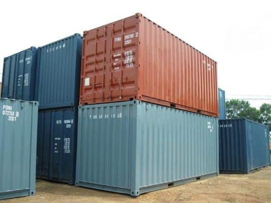 Container 20 feet chở được bao nhiêu tấn 2