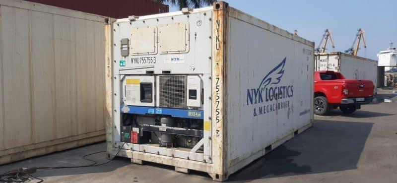 1 container 40 feet chở được bao nhiêu tấn 5