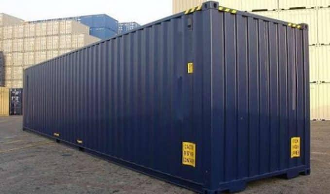 1 container 40 feet chở được bao nhiêu tấn 1