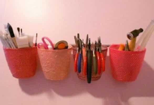 handmade từ chai nhựa 14