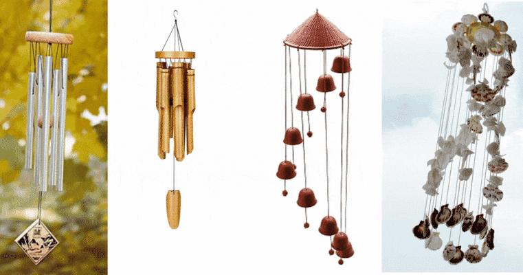 cách tự làm chuông gió bằng vỏ sò
