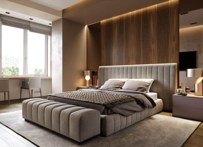 cách đặt giường ngủ theo phong thủy 6