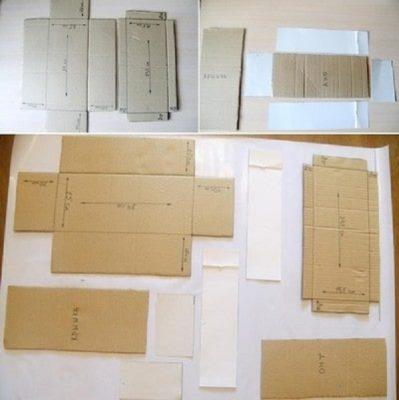 cách làm hộp quà bằng bìa carton đúng chuẩn 3