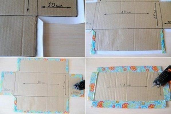 cách làm hộp quà bằng bìa carton đúng chuẩn 5