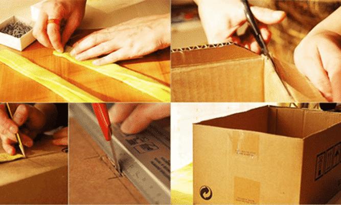 cách làm hộp quà bằng bìa carton đúng chuẩn