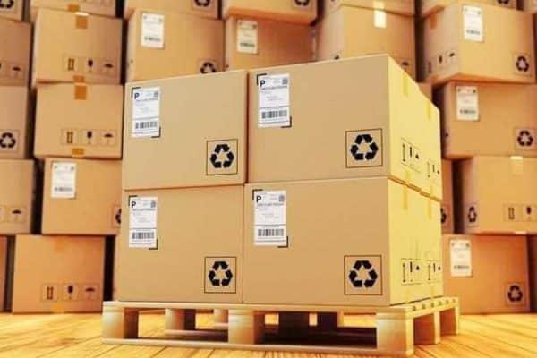 đóng gói hàng - quy trình quản lý kho hiệu quả