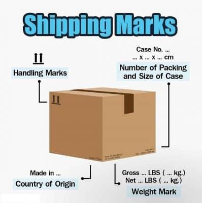 shipping mark là 3