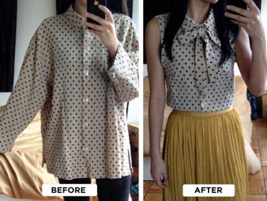 Tái chế quần áo cũ thành vật dụng 16
