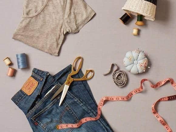 tái chế quần áo cũ