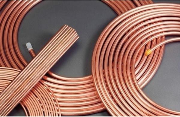 nguyên vật liệu ống đồng