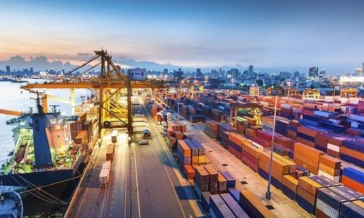 quy trình xếp dỡ hàng hóa container