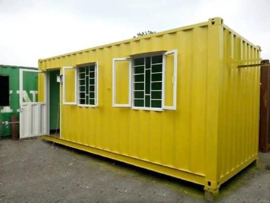 Mẫu container văn phòng đẹp