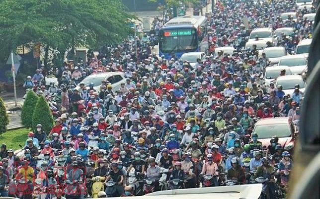 các con đường thuyền xuyên kẹt xe tại Sài Gòn