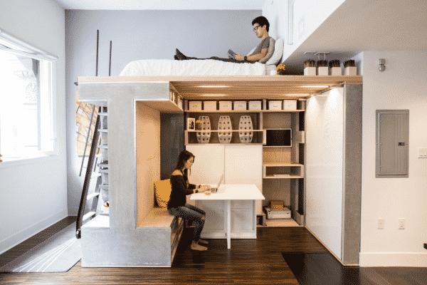 thiết kế phòng tiện lợi