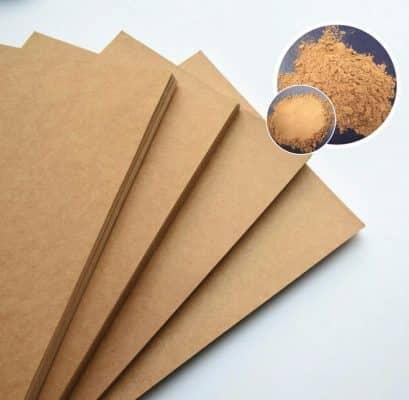 Giấy Kraft là loại giấy được làm từ bột giấy hòa học