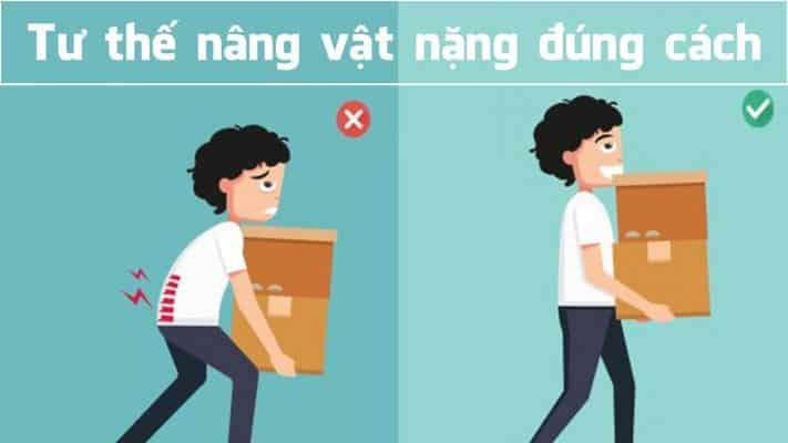 Hướng dẫn mang vác vật nặng di chuyển an toàn đúng chuẩn,