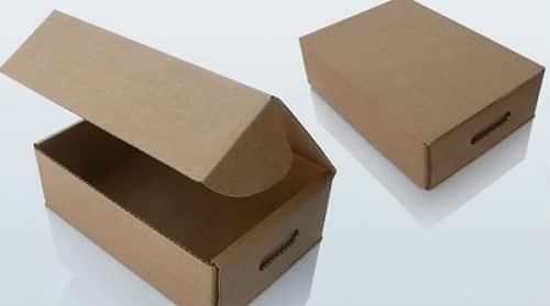 tiện ích thùng carton nắp nửa phần