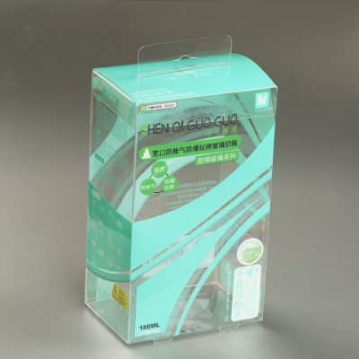 In bao bì vỏ hộp bằng nhựa