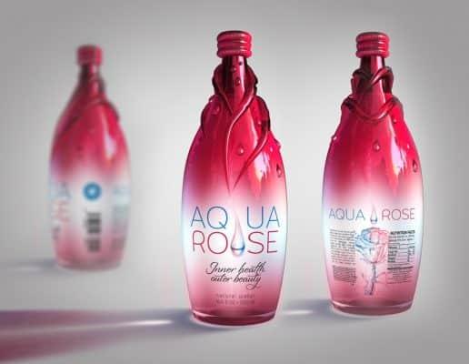 mẫu thiết kế bao bì sản phẩm aquarose
