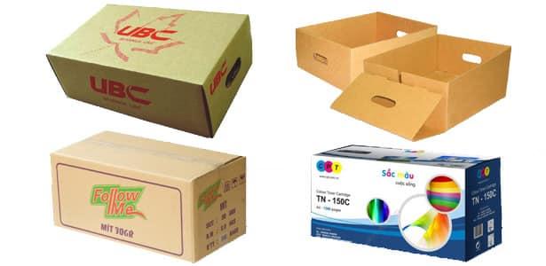 lợi ích khi chọn thùng carton phù hợp với ngành hàng